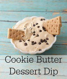 Cookie Butter Dessert Dip