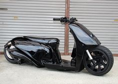 Gloss Stealth Lowrider Scooter