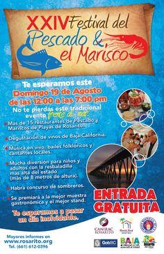Rosarito Beach Baja California Mexico: Festival del Pescado y Marisco - Rosarito Seafood Festival
