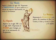 Los símbolos de la Justicia #abogado #derecho