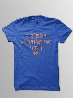 Finding Nemo Adult Shirt Disney shirt adult Nemo by ConchBlossom