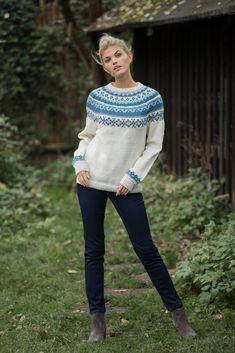 Icelandic Sweaters, Beret, Frost, Pullover, Denim, Knitting, Fashion, Tunic, Threading