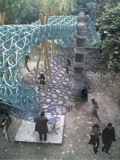 Ball Nogues Studio Wins Pavillon Spéciale 2012 Competition in Paris