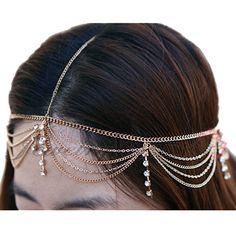 Trend Alert - Hair Chains