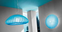 SP MUSE / Muse suspension and wall, blue