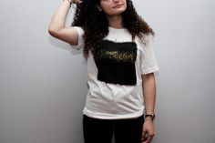 Abstract take on a cultural landmark destination 100% ring spun cotton unisex fit