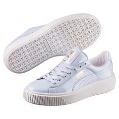 Basket Platform Patent Women s Sneakers f950f4969