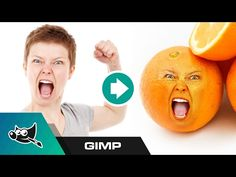GIMP Tutorial: Put Someone's Face on an Object - YouTube