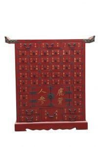 Mueble fabricado en madera de olmo añoso asiatico, con herrajes de bronce.  Altura       103 cms.  Ancho        96 cms.  Profundidad   25 cms.