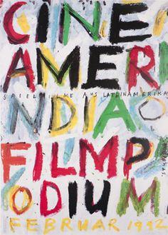 Paul Bruhwiler (designer), Cine-Amerindia Filmpodium, 1992.