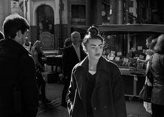 Girl at Borough Market - City
