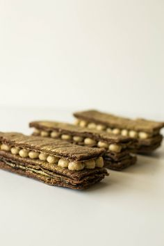 Golden Chocolate Mille Feuille