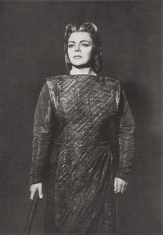 Martha Mödl Walküre 1955