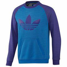 Adidas Originals - Trefoil Raglan Sweatshirt Orijinal Adidas 8ba61fbf16e