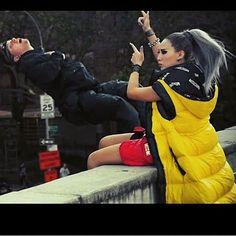 Moschino @chaelincl #cl #lifted #moschino @itsjeremyscott #jeremyscott