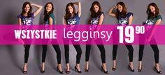 Skorzystaj z promocji i kupuj taniej! WSZYSTKIE legginsy 19,90zł! Zobacz: http://www.butik.net.pl/tra-pol-1326887051-legginsy_sale.html