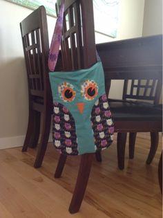 The Gig's Digs: Handmade Owl Purse Tutorial
