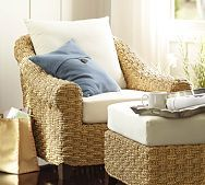 Holbrook Seagrass Armchair From Pottery Barn