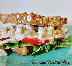 Chipolte Chickpea Salad Sandwich