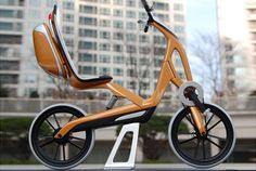 "An Excellence Award winner at 2010 International Bicycle Design Competition, the AutoVelo, created by SpeedStudio Design's founder, Erik Stoddard, is a hybrid electric recumbent bicycle that's more upright than traditional versions to mimic the seated position in a car. ""Most recumbent bikes sit lower to the ground, but the AutoVelo is actually modeled off the seating position of a small SUV so you're a little higher off the ground, so you can see in traffic and you can be seen,"" Stoddard…"