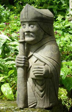 Bishop Chess man Lewis Island | eBay  Garden ornament