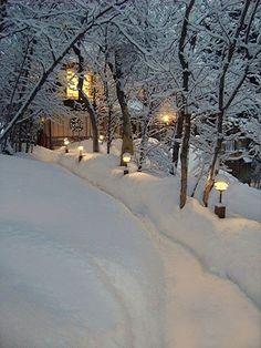 winter cottage...