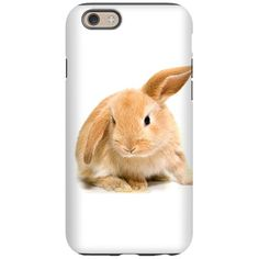 Spring Easter Bunny 2 iPhone 6 Tough Case on CafePress.com