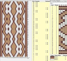 36 cards, 3 colors, repeats every 16 rows, GTT