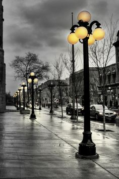 Streets Lanterns Mobile Wallpaper - Mobiles Wall