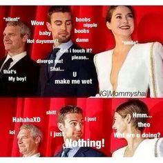 Oh my God hahahahahahaha Sheo Funny.  Divergent