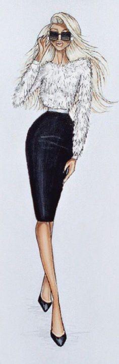 LeeAnn Visser Fashion Illustration