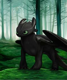 Toothless by theSilverJackaL on DeviantArt