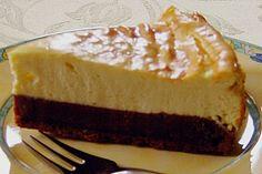 Käsekuchen mit Brownie Boden (Rezept mit Bild) von Pumpkin-Pie | Chefkoch.de