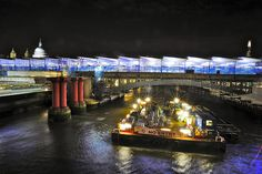 Ongoing development at the amazing Blackfriars platforms on the bridge Bridges, Southern, England, London, Adventure, Architecture, World, Arquitetura, Adventure Game