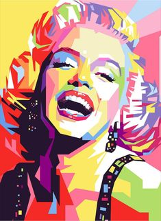 Marylin Monroe Pop Art Poster by Ahmad Nusyirwan. All posters are professionally printed, packaged, and shipped within 3 - 4 business days. Choose from multiple sizes and hundreds of frame and mat options. Pop Art Marilyn, Marilyn Monroe Kunst, Marilyn Monroe Artwork, Marylin Monroe, Marilyn Monroe Drawing, Art And Illustration, Pop Art Portraits, Portrait Art, Images Pop Art
