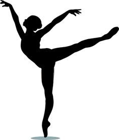 Dancer Silhouette Arabesque | Clipart Panda - Free Clipart Images
