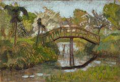 Otto Modersohn, Garten im Frühling, 1922/1924, Auktion 905 - 900. Auktionen - Moderne Kunst, Lot 759