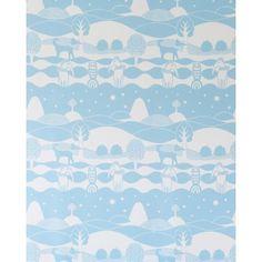 Heaven Sea & In Between Wallpaper by Majvillan | Available from www.wallpaperantics.com.au