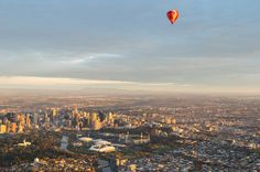 Melbourne, Australia: See Australia's second largest city from an aerial view to see the skyline, Melbourne Park and the Rod Laver Arena, site of the Australian Open. The Travel Women