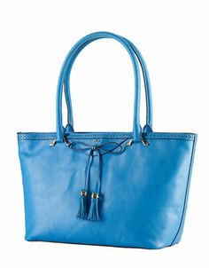 Dundee Leather Shopper Bag | Lord and Taylor