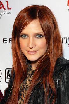 Ashley Simpson - red hair 2