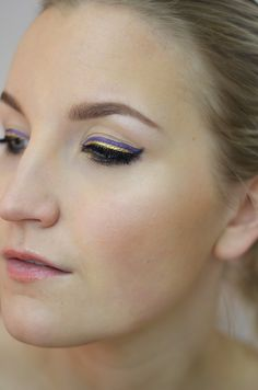 gold & lilac