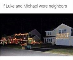 I think we all know which house would be Michaels