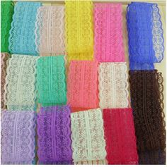 Material: Lace Ribbon Width:45MM Length:10yards/lot Color: your Choice