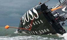 Walking the keel on the Hugo Boss Volvo Open 60!