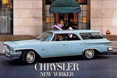 1962 Chrysler New Yorker Station Wagon #nostalgia #MacHaik #Chrysler