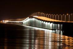 Our gorgeous bridge...Bay St. Louis Mississippi