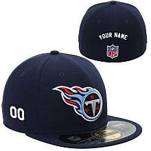 fd2a2612caa Men s New Era Tennessee Titans Customized Onfield 59Fifty Football  Structured Fitted Hat Football Team Gifts