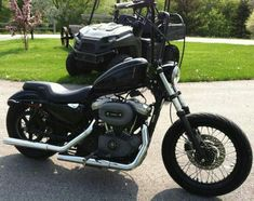 Harley Davidson.  Nightster  ape  hangers