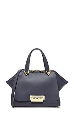 ZAC Zac Posen Women's Eartha Small Double Handle Bag, Navy, One Size * Want to know more, click on the image.